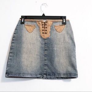 Studio F Industry Co Jeans | Vintage Western Skirt
